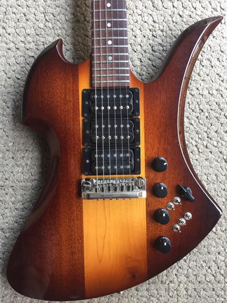 BC RICH MOCKINGBIRD 3 PICKUP GUITAR- jA | COOL GUITAR PAINT JOBS and ...