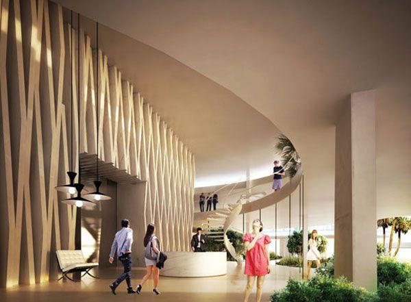 Hotel Apartment Lobby Interior ...