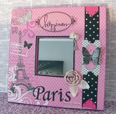 Malma decoraci n parisina cuadros portafotos canvas y for Cuadros espejos decoracion