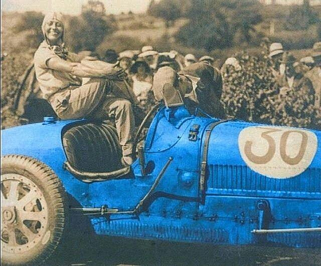 Helle Nice The Bugatti Queen In 1931 Ettore Bugatti