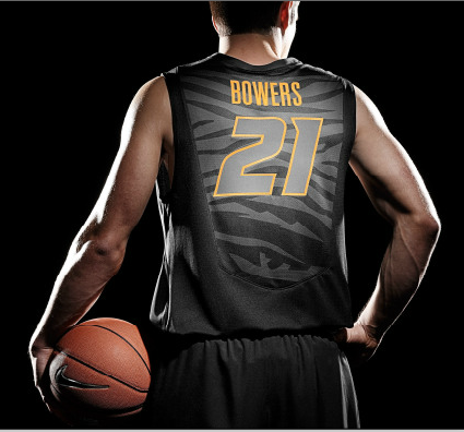 new style 30b67 968f8 2012-13 Missouri Basketball jerseys by Nike. Awesome stripes ...