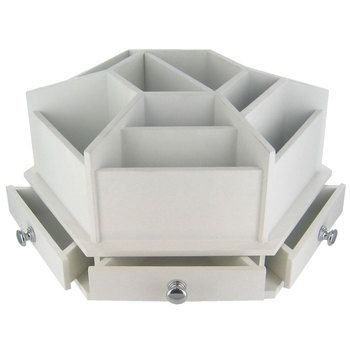 White Spinning Tool Organizer Great For Your Sewing Table