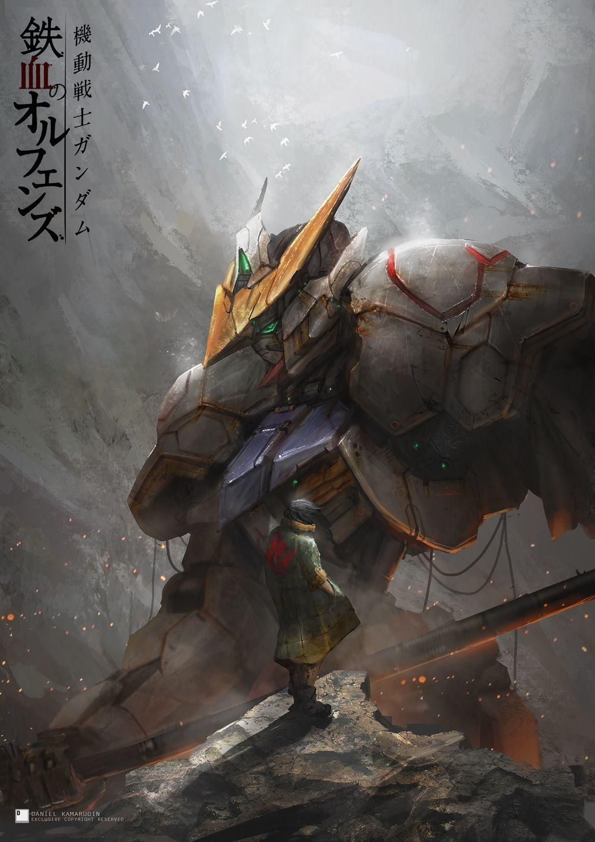 Gundam Barbatos Pictures Gundam Gambar Wallpaper Ponsel