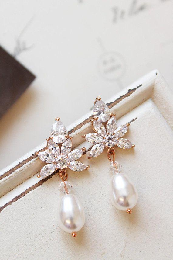 Vintage Pearl Stud Earrings Uk