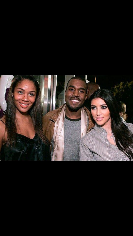 Kanye West Alexis Phifer Kanye S Ex Fiance And Kim Kardashian Current Fiance In 2008 Kanye Kanye West Kim