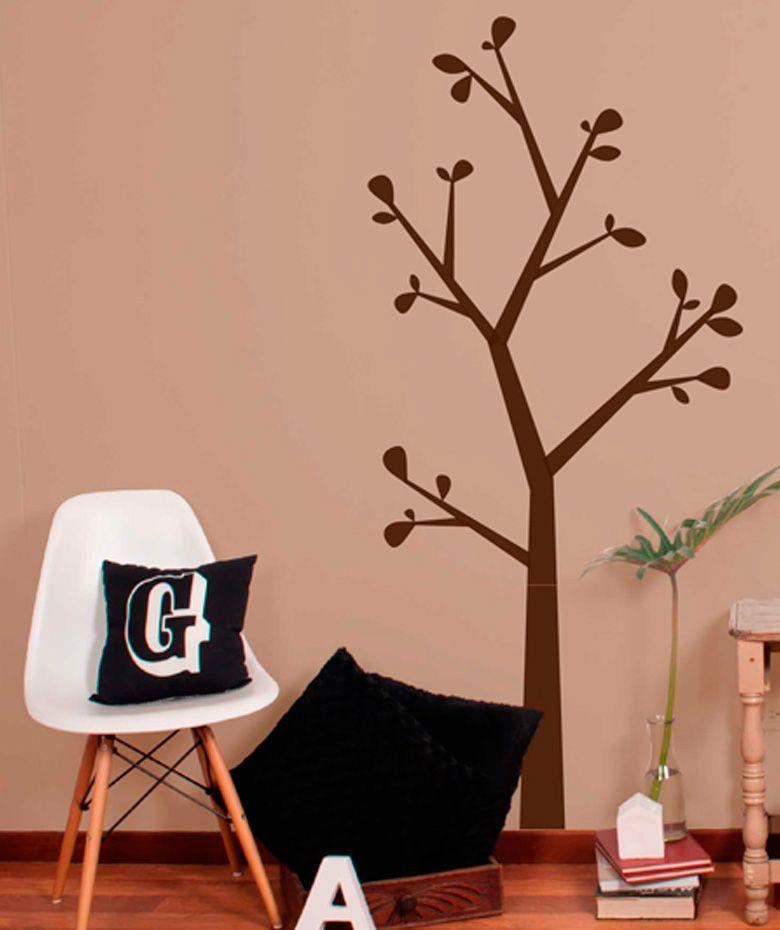 rbol minimalista vinilo adhesivo decoracin de paredes cop encuentra ms vinilos