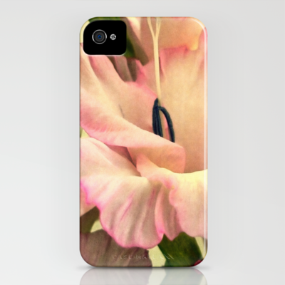 Vintage pink iPhone Case by Shalisa Photography - $35.00