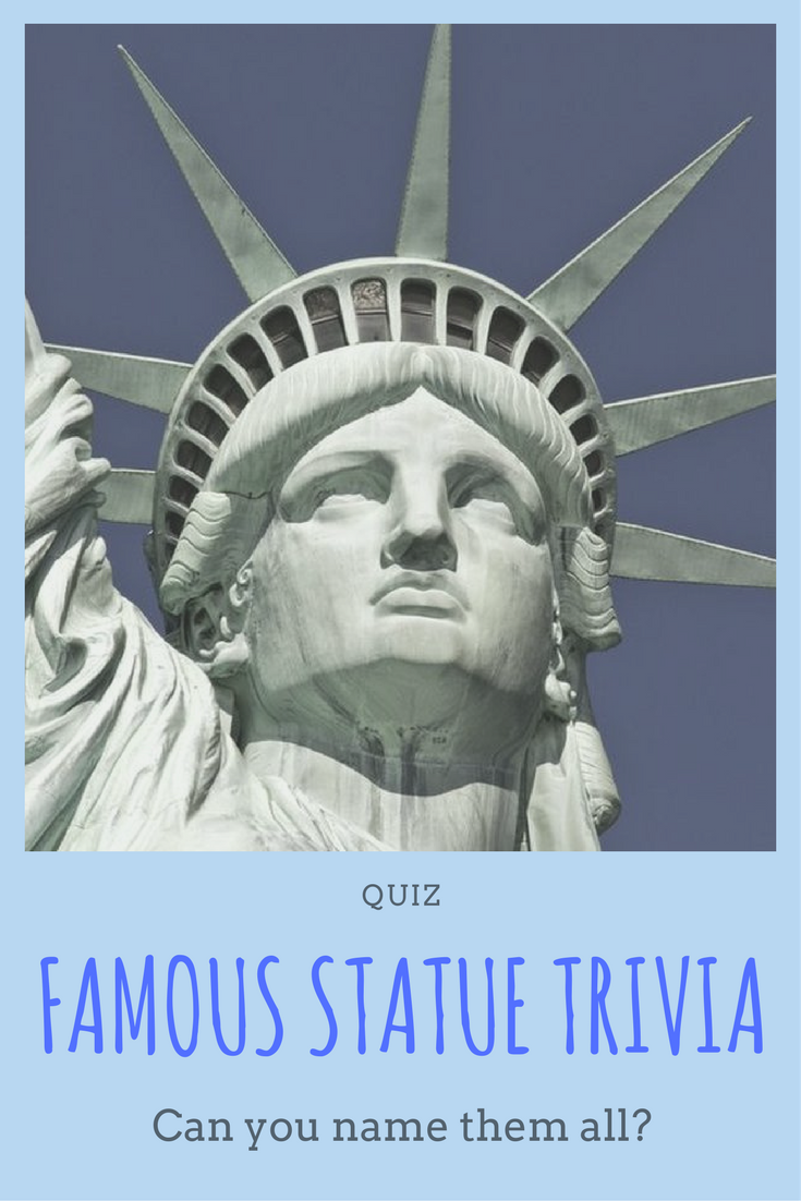Consider yourself a bit of a historian with a love of world culture? Then  take this quiz! Can you identify these famous statues, sculptures, and  monuments ...