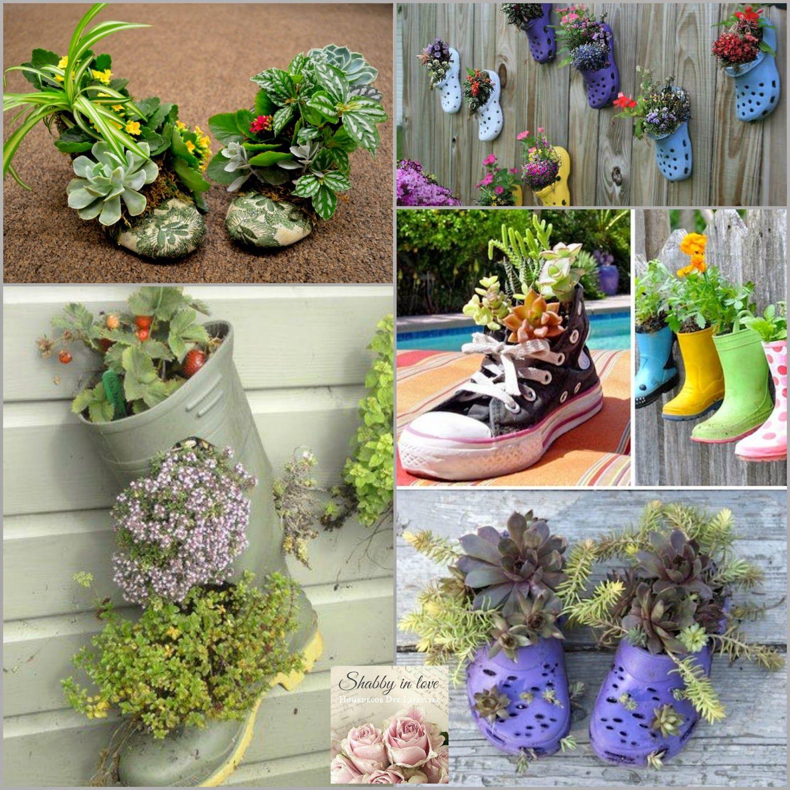 Lovely garden Container ideas   For the Garden   Pinterest   Gardens ...