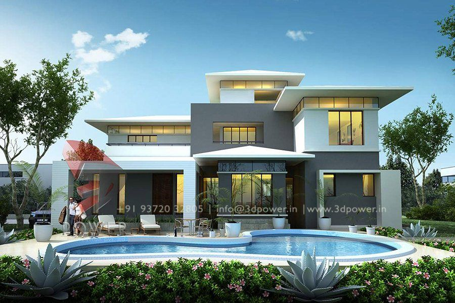 Modern exterior bungalow house design for Different exterior house styles