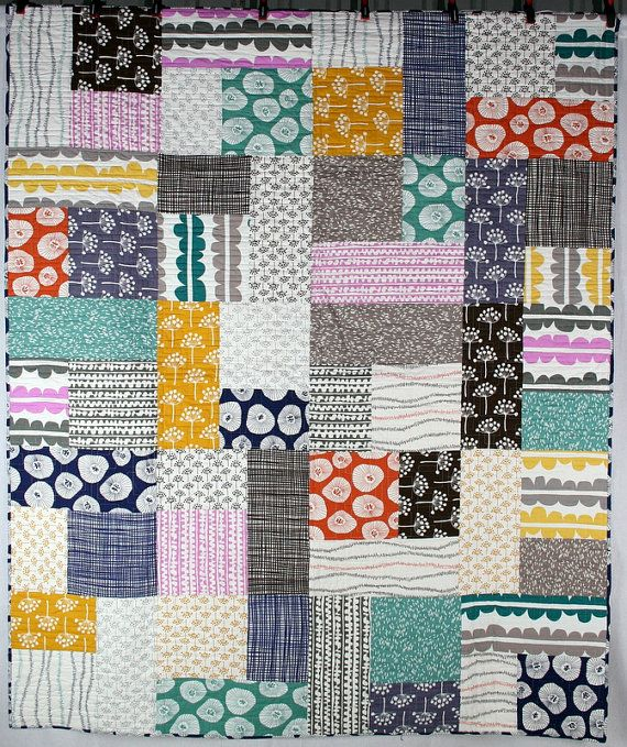 Echo Quilt  Twin size 66 X 80 by TheQuiltingPlatypus on Etsy, $450.00
