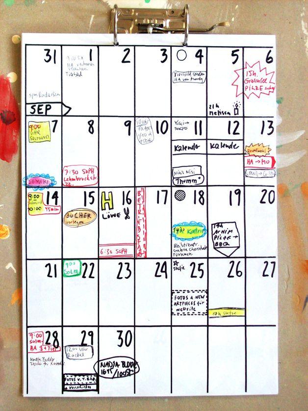 Kalender 2018 / 2019 (18 Monate) | 18 Monate, Wandkalender Und