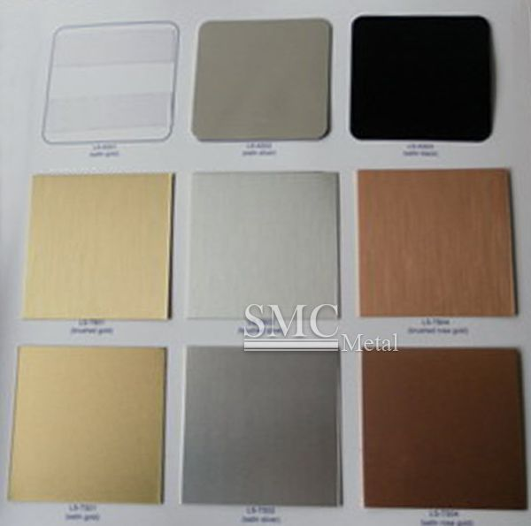 Color Samples Of Sublimation Aluminum Sheet Color Samples Aluminium Sheet Sublime