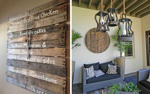 decoracion con palets paredes buscar con google - Decoracion Con Palets