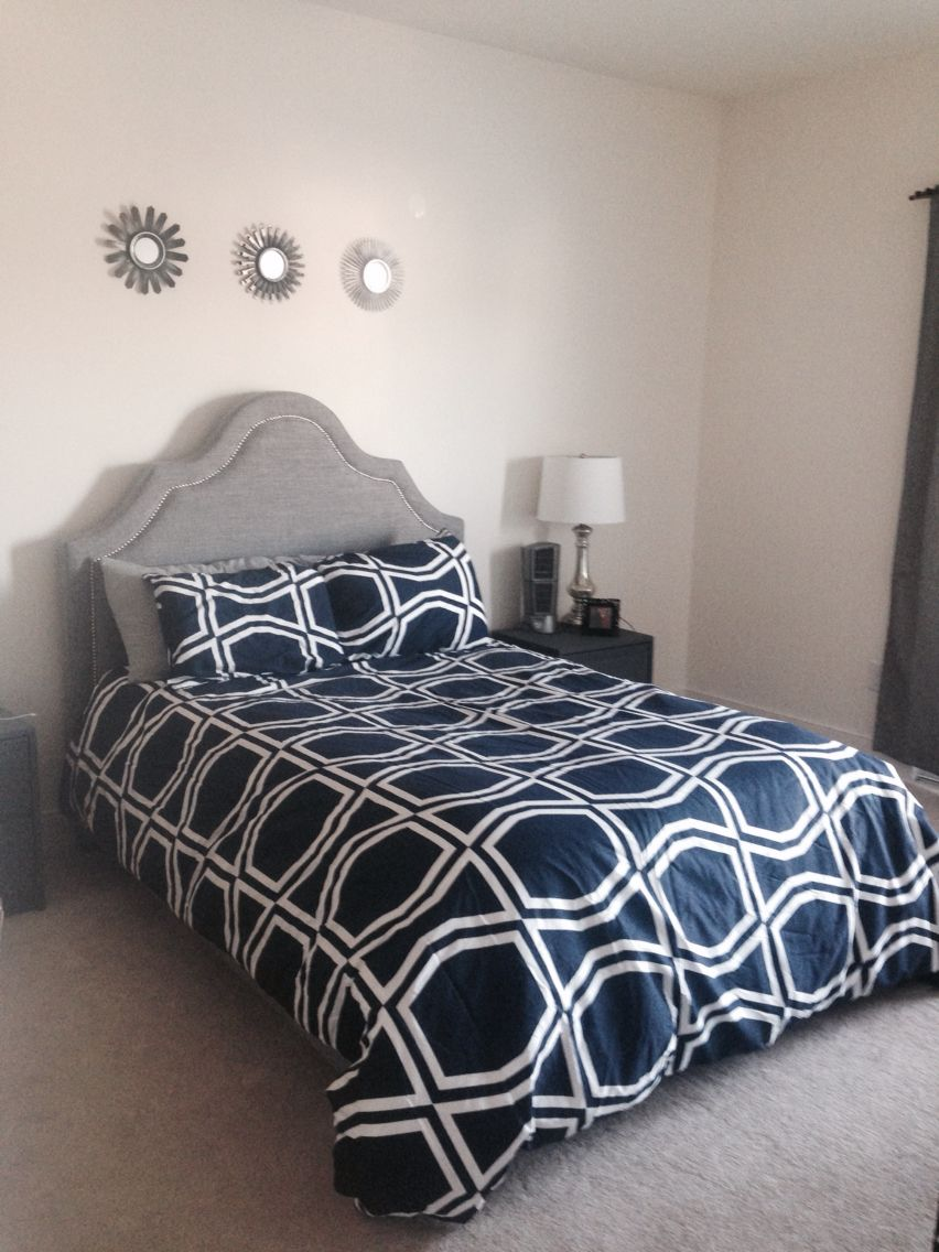 Bed From Wayfair Kate Spade Comforter From Home Goods Small Mirrors From Target Bed Home Goods Home