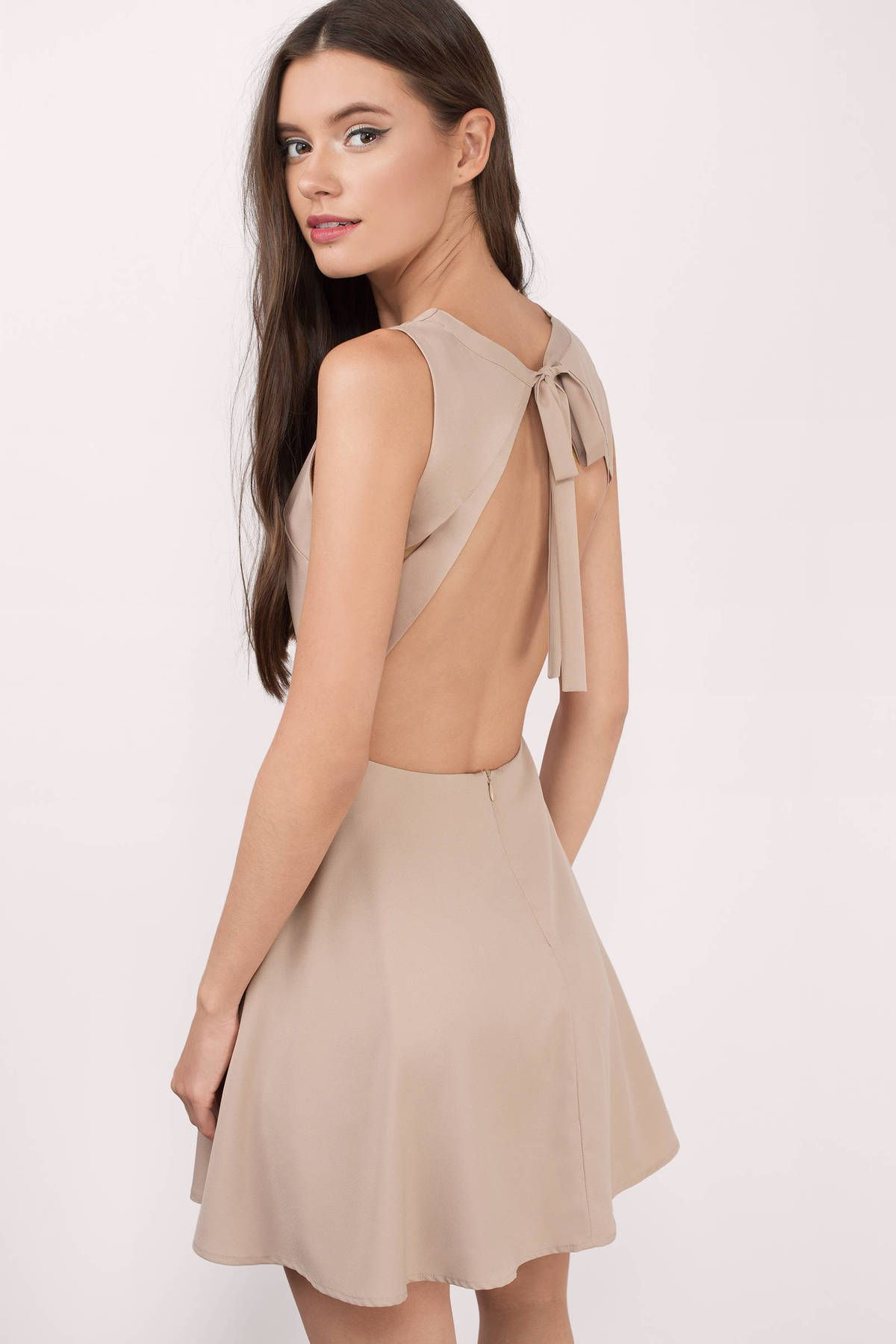 0220f26193 Andie Open Back Skater Dress at Tobi.com  shoptobi