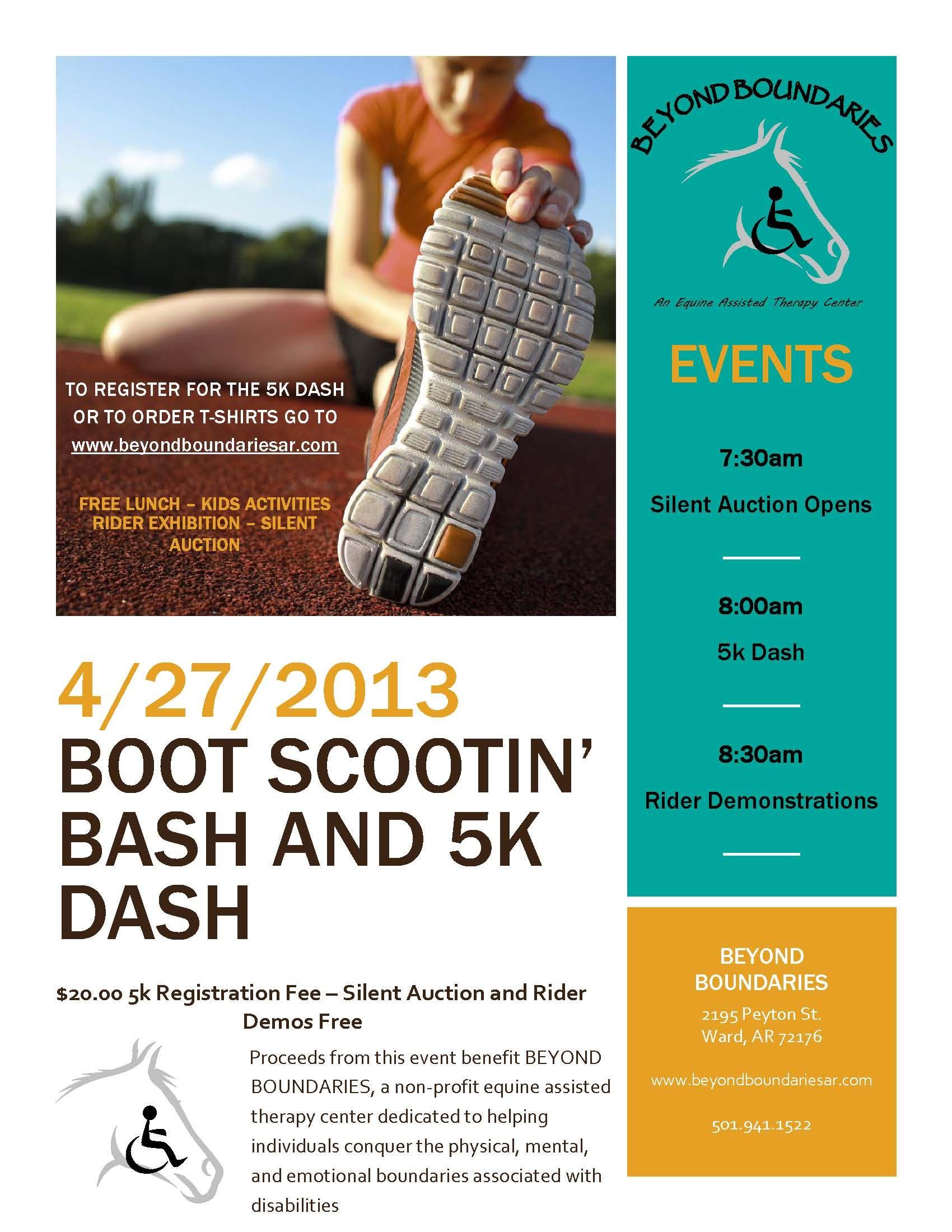 The Boot Scootin Bash And 5k Dash Lonoke News Free Flyer