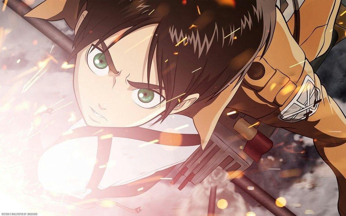 Eren jaeger Attack on Titan Anime, Attack on titan eren
