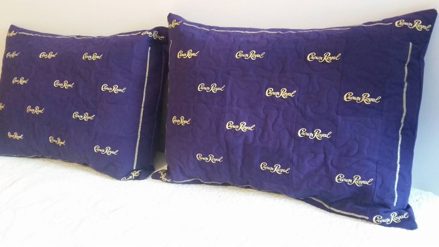 Crown Royal Throw Pillows Made From