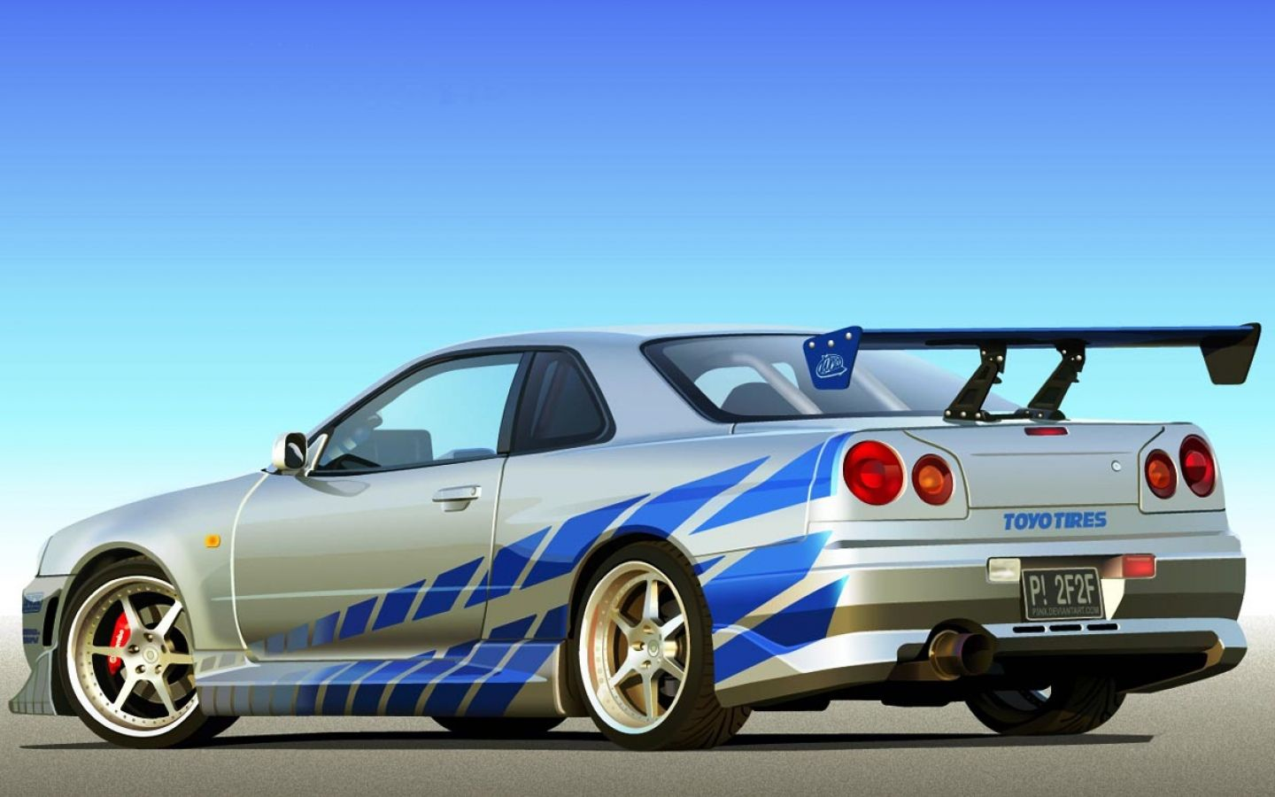 My Dream Car Nissan R34 Fast And Furious Edition