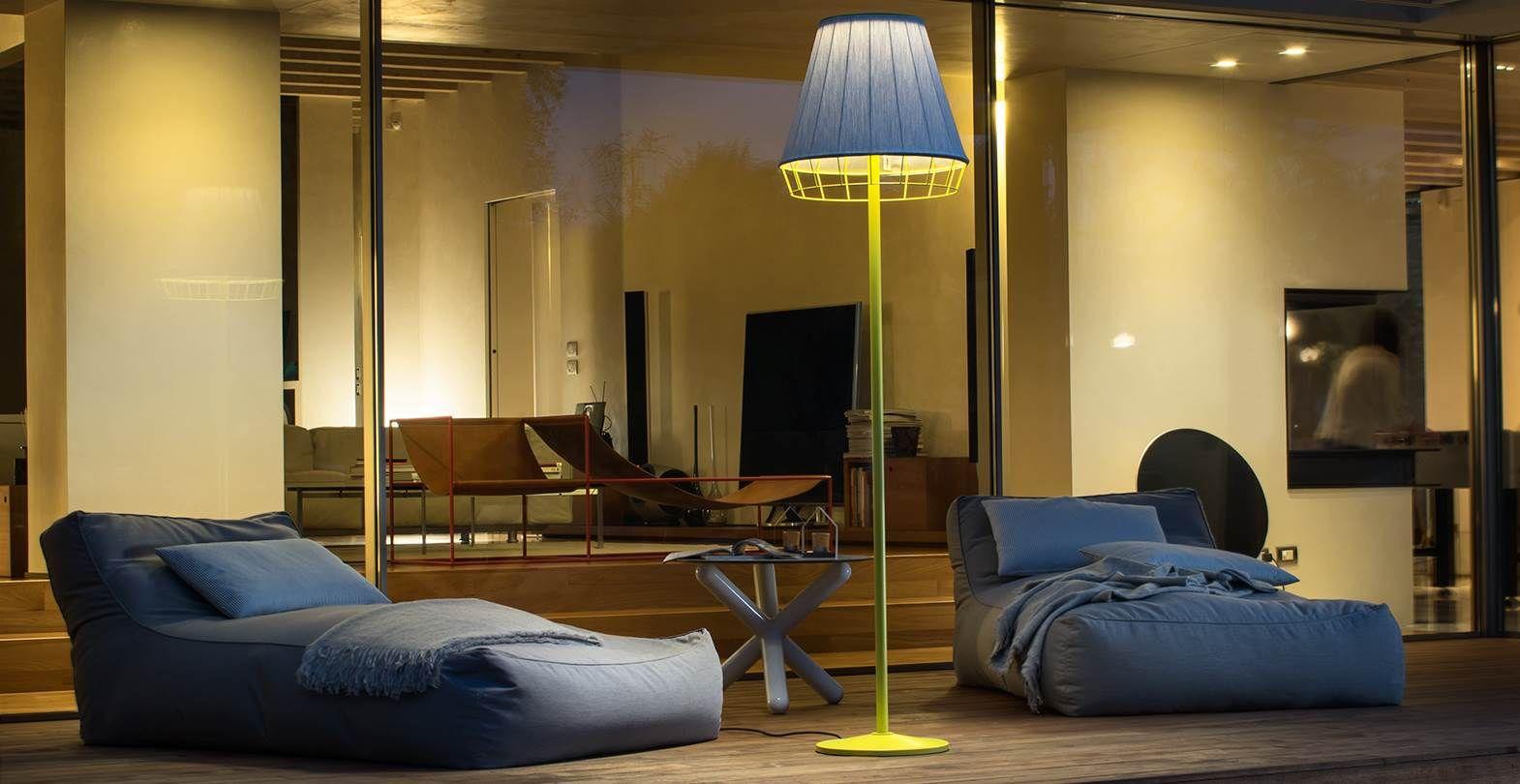Dress Torremato Outdoor waterproof fabric lamps Floor