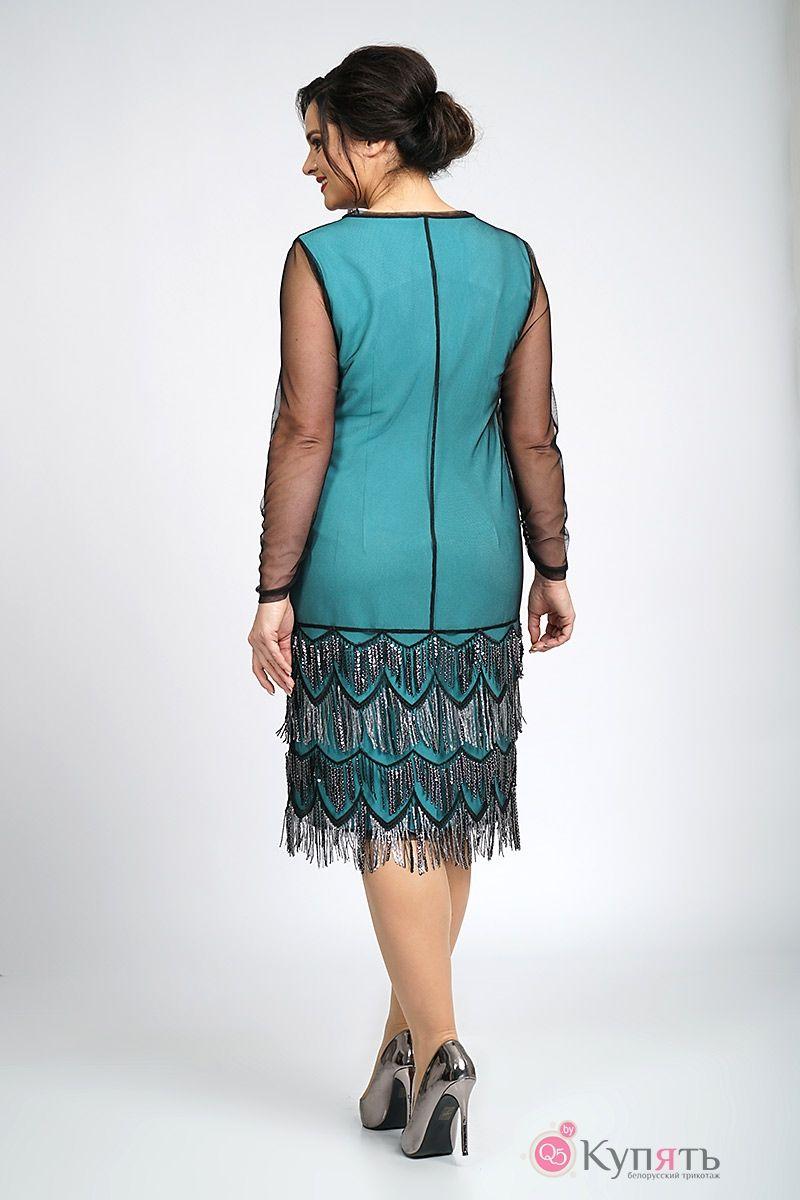 платье светлана стиль 1177 черное купить