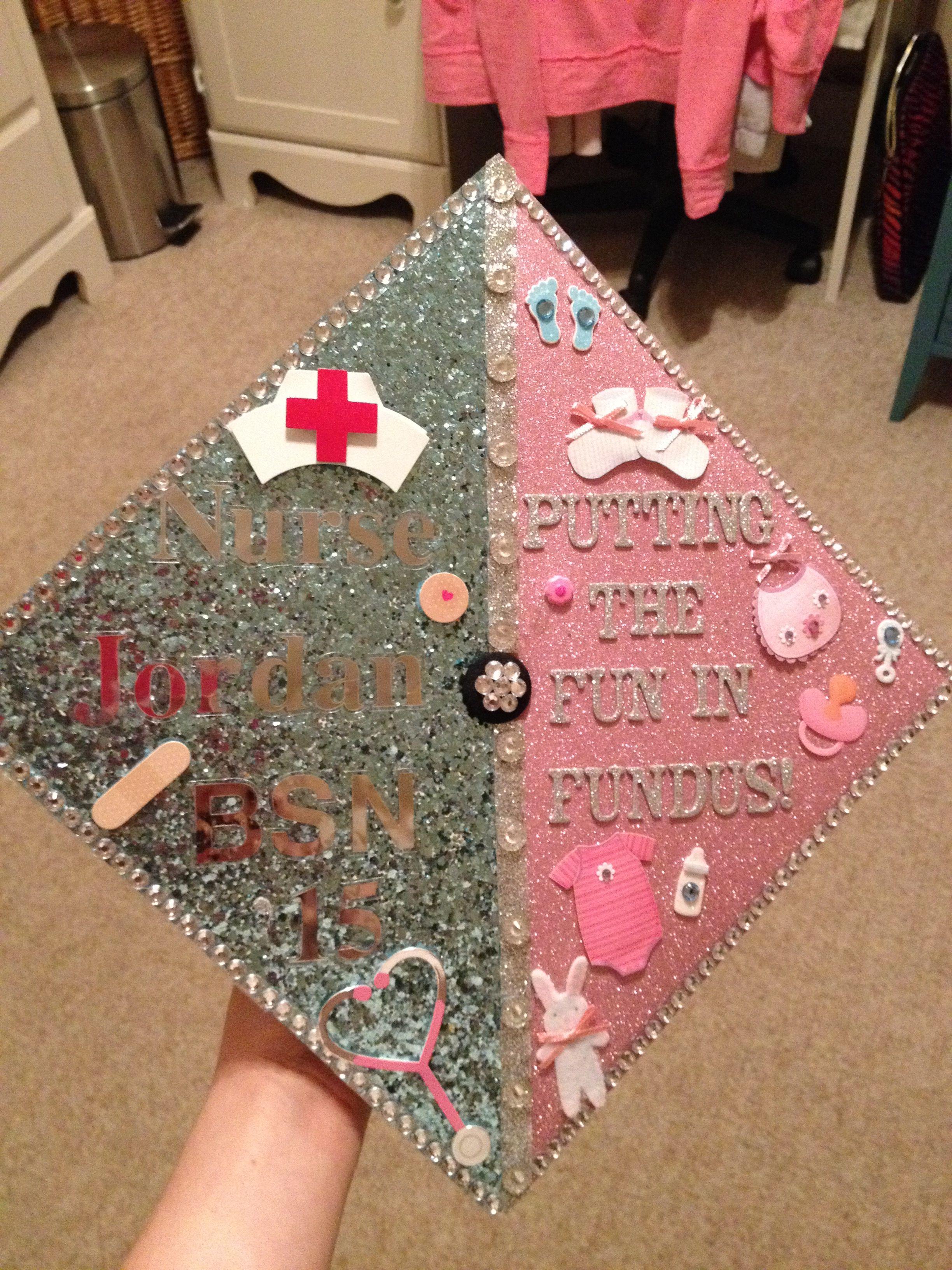Mother Baby Nursing Graduation Cap Nurse Graduation Cap