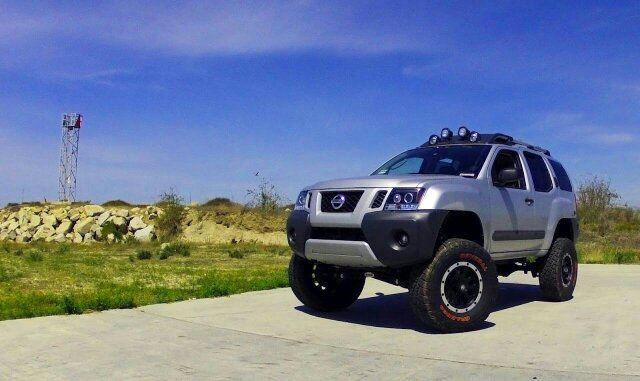 Xterra Headlights And Bumper Paint Job Nissan Xterra My Ride Monster Trucks