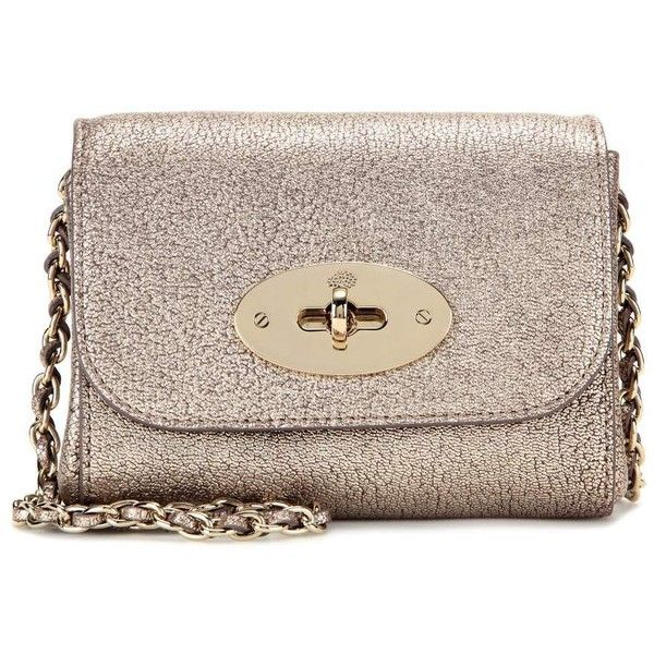 404c56a5e8f5 ... new style mulberry mini lily metallic leather shoulder bag 515 liked on  polyvore featuring f4ec6 ca0b2 ...