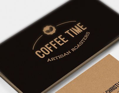 """Check out new work on my @Behance portfolio: """"Coffee Time. Imagen corporativa.""""…"""