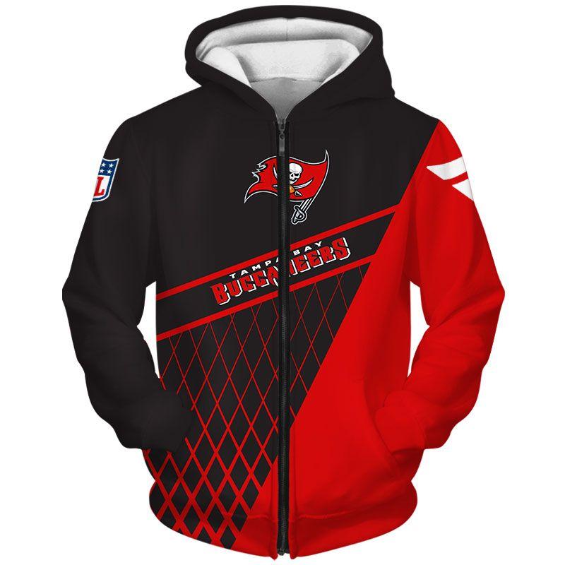 Tampa Bay Buccaneers Zip Hoodie Cheap Sweatshirt Gift For Fan Em 2020 Casual Shoppings