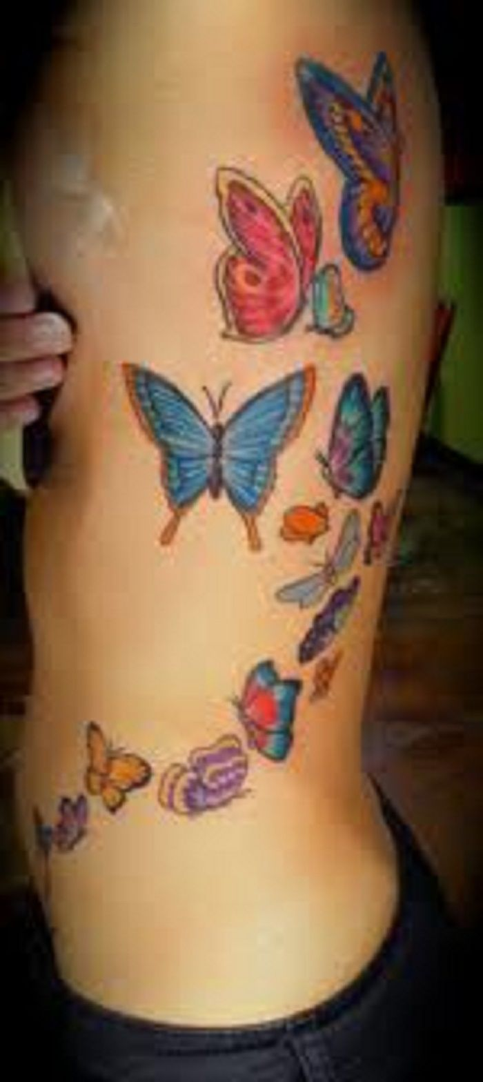 All tattoo design side tatoos - Butterfly Side Tattoos For Women Butterfly Tattoos Up Side Butterfly Tattoos Up Side