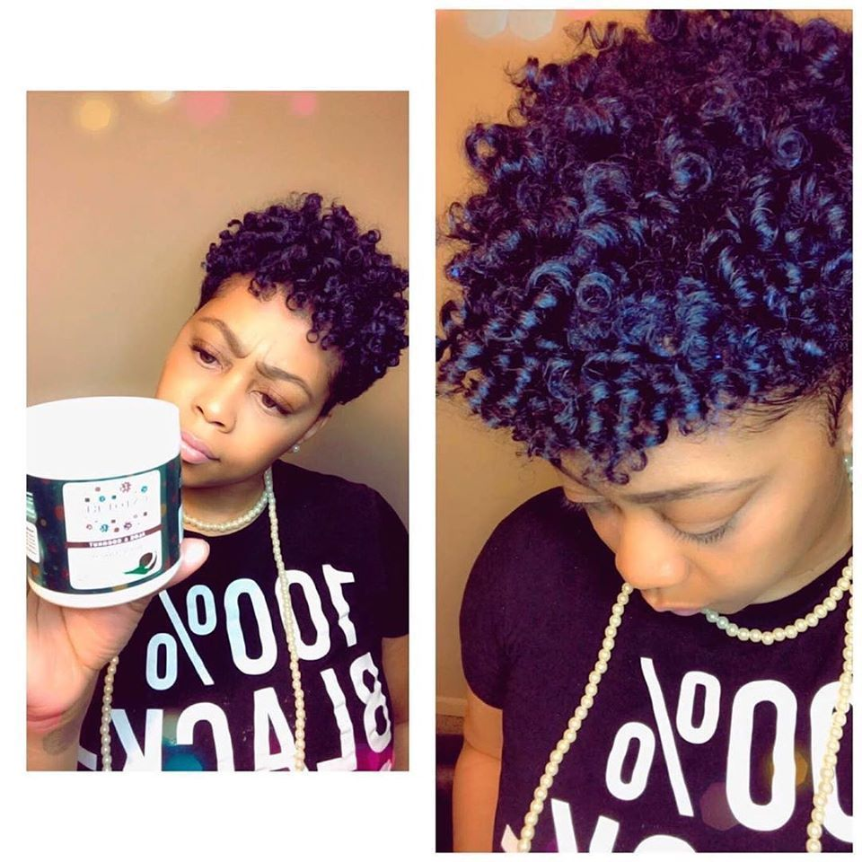 Frizzy Curls Will Finally Pop The Way You Want This Crystal Clear Styling Gel Glides On Smooth In 2020 Natural Hair Styles Wavy Hair Overnight Natural Hair Tutorials