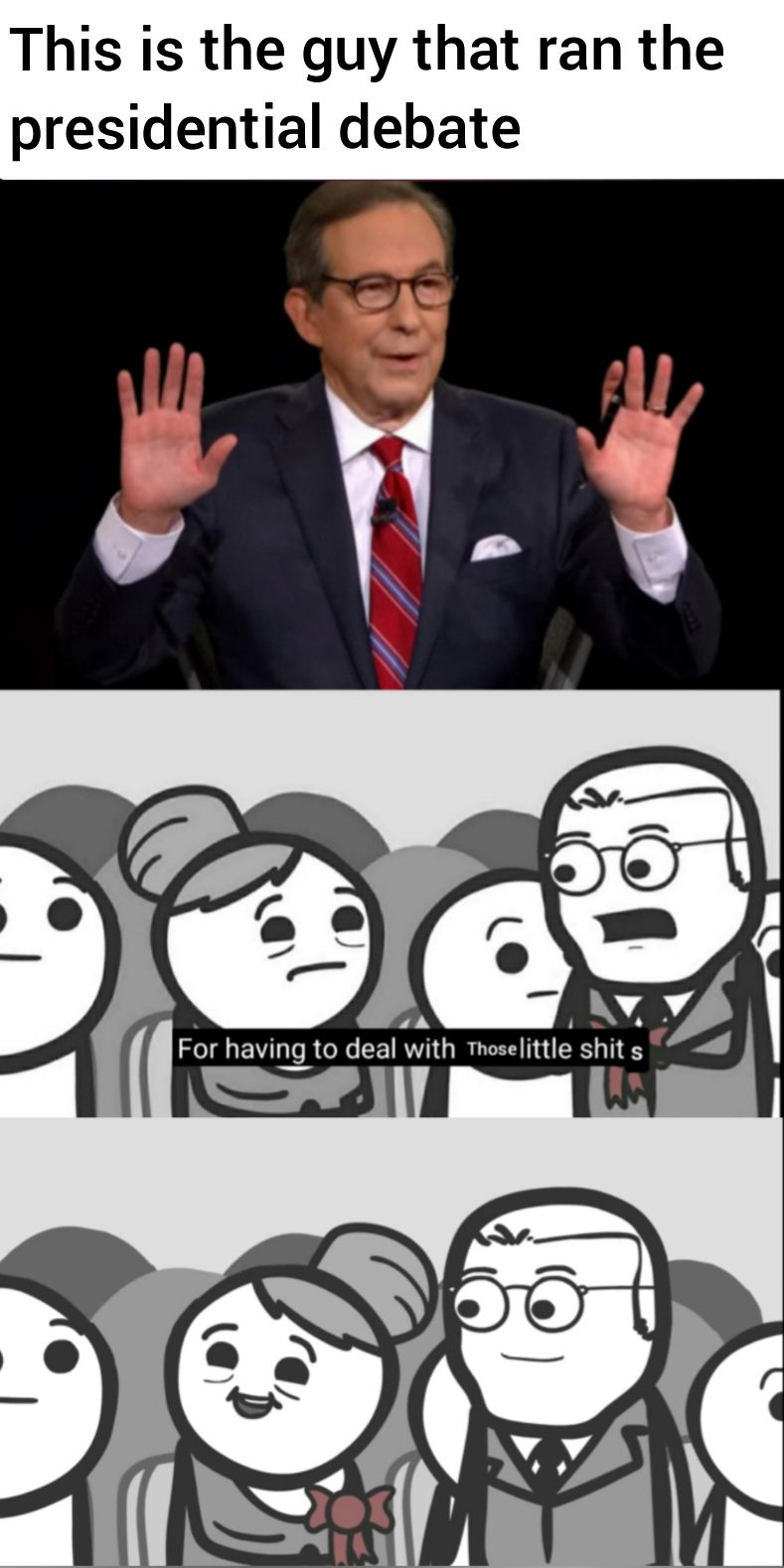 I Present To You Another Presidential Debate Meme Thor Gift Thorgift Com If You Like It Please Buy Some From Th Debate Memes Love Memes Funny Memes