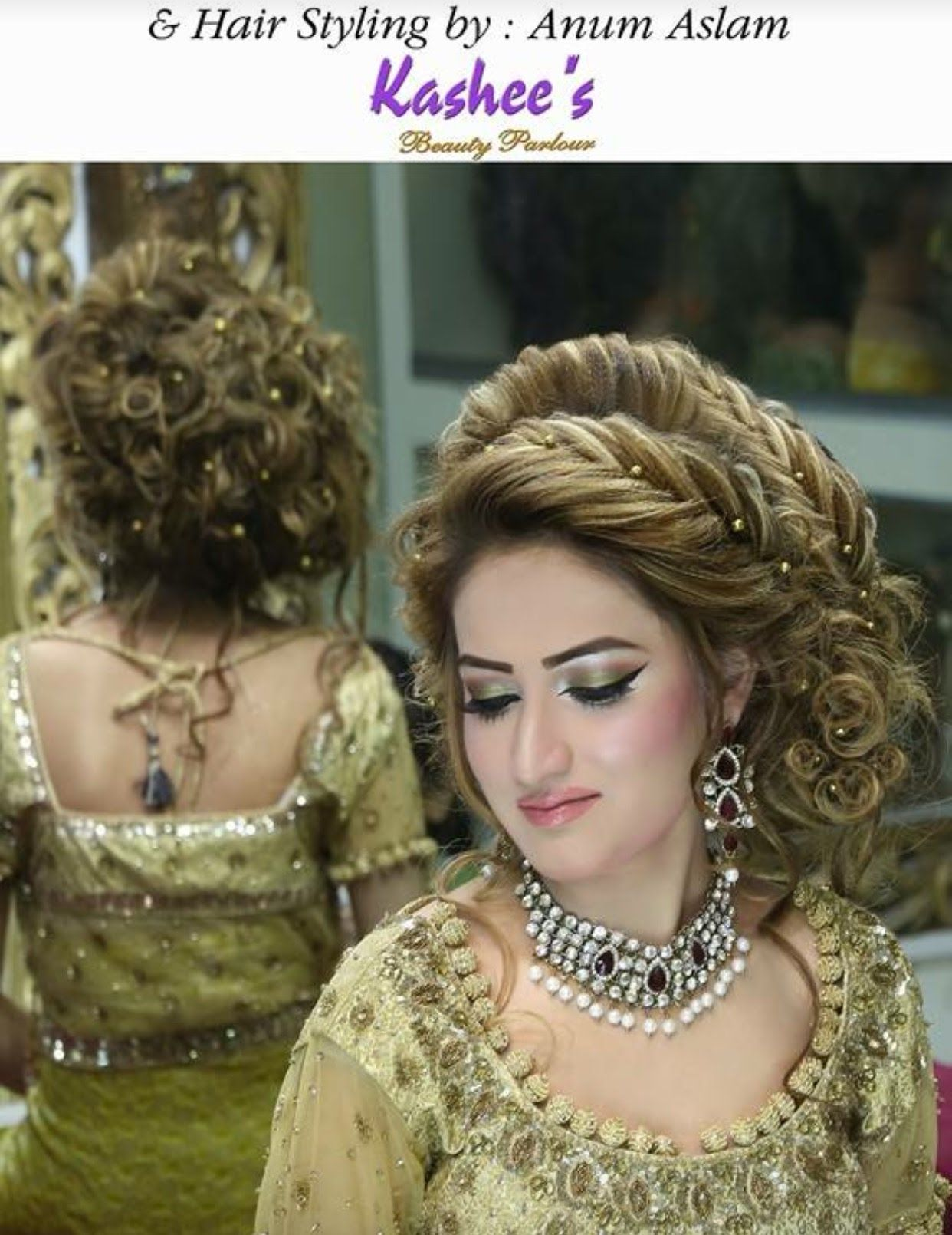 pakistani bridal hairstyle step by step full tutorial
