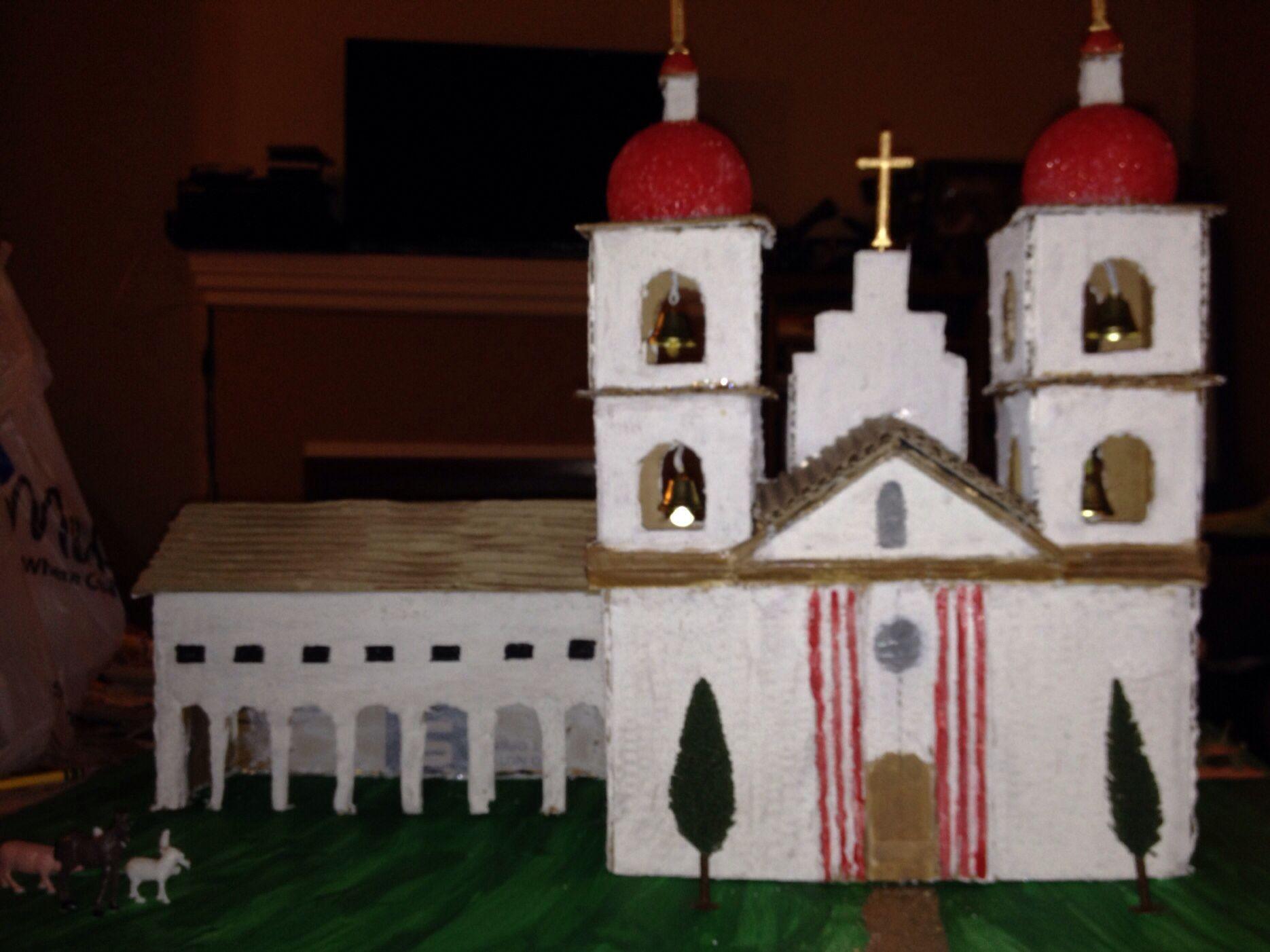 4th grade mission project- mission santa barbara | kid stuff