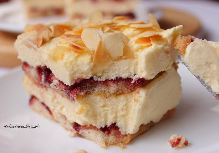 bez pieczenia - ciasto malakoff