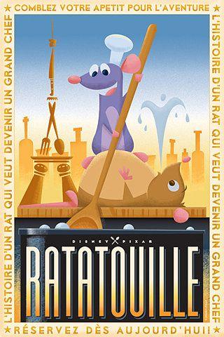 Ratatouille! I love this movie