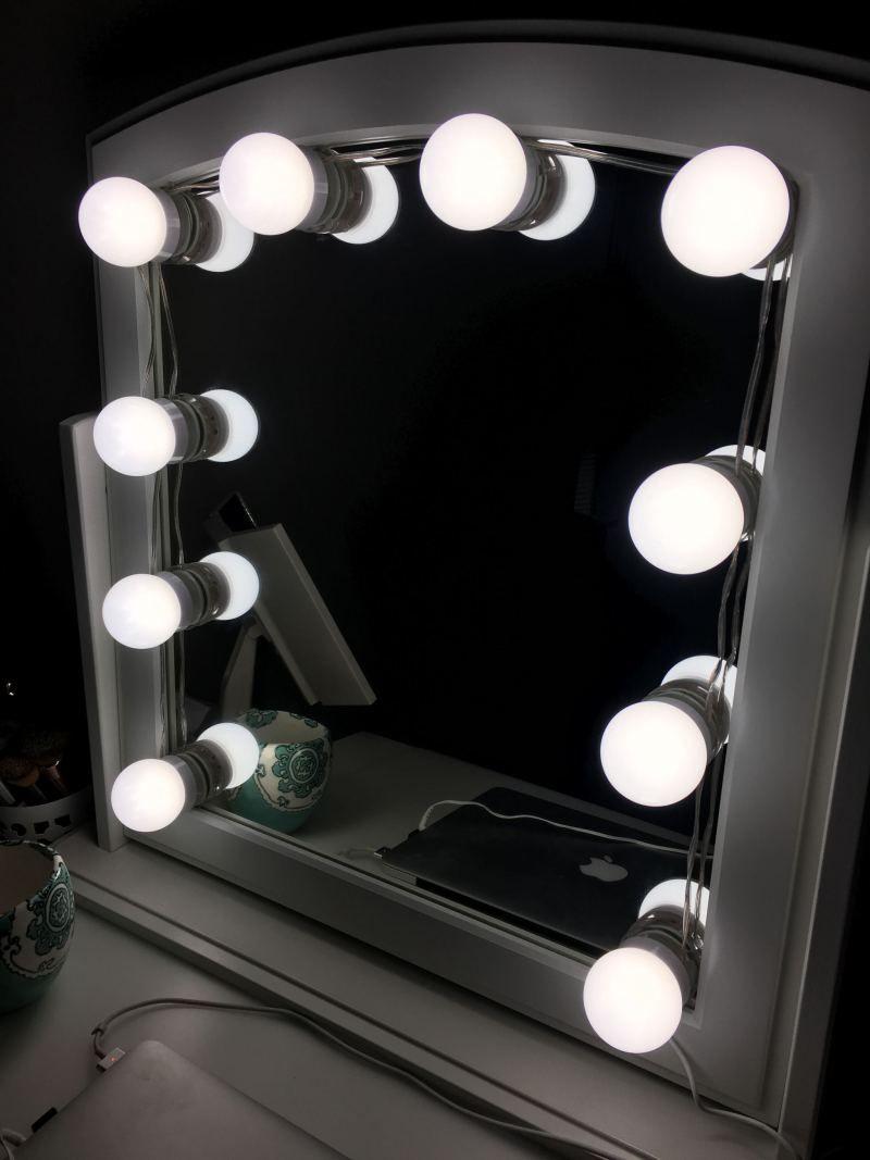 Ikea Hack Diy Mirror With Lights Lighted Vanity Mirror Diy Mirror