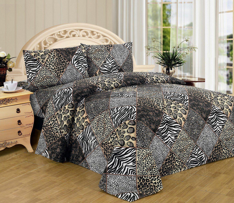 animal print bedding safari bedding comforters king size sheets