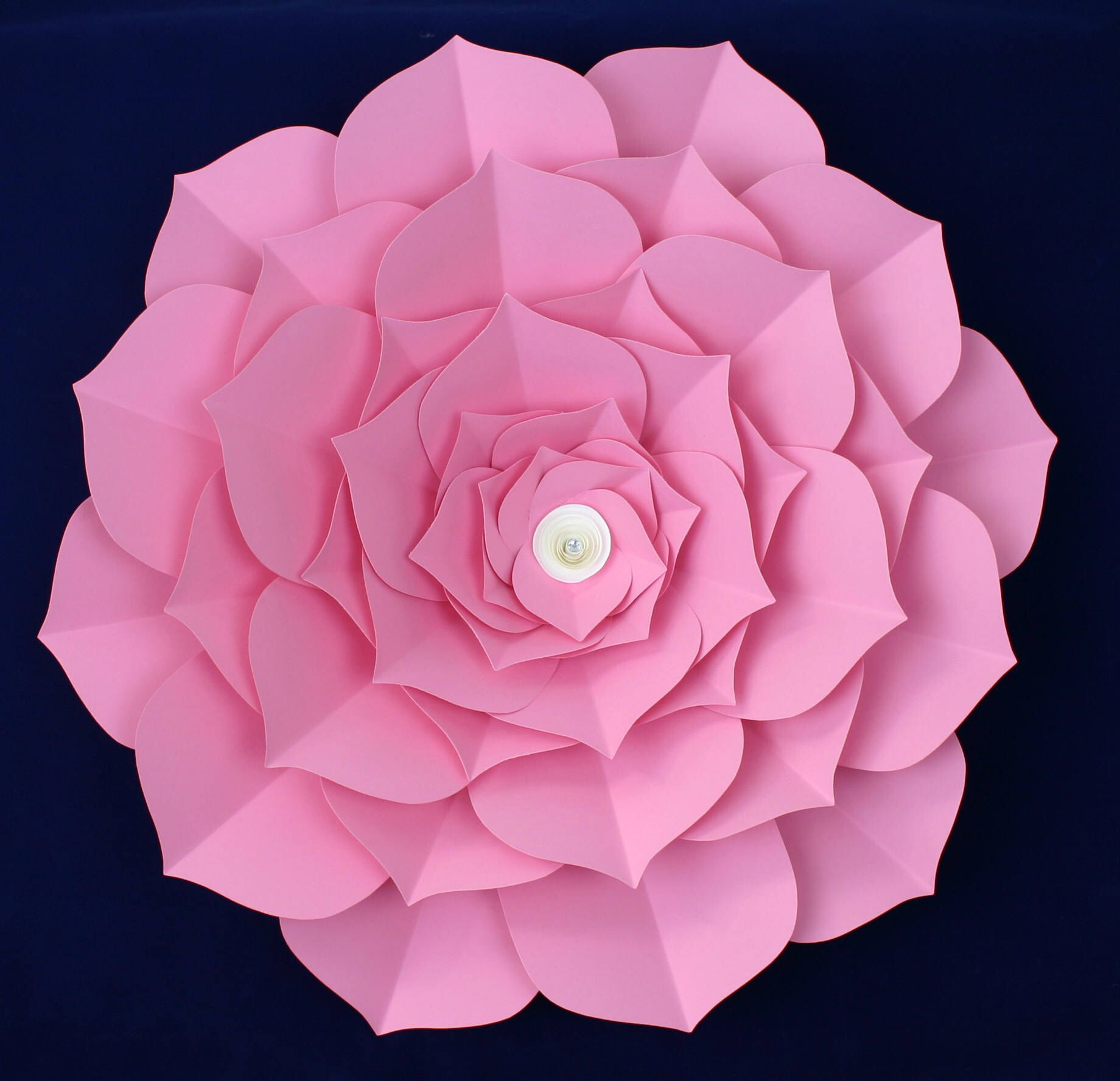 Large Paper Flower Giant Paper Flower Big Paper Flower For Any