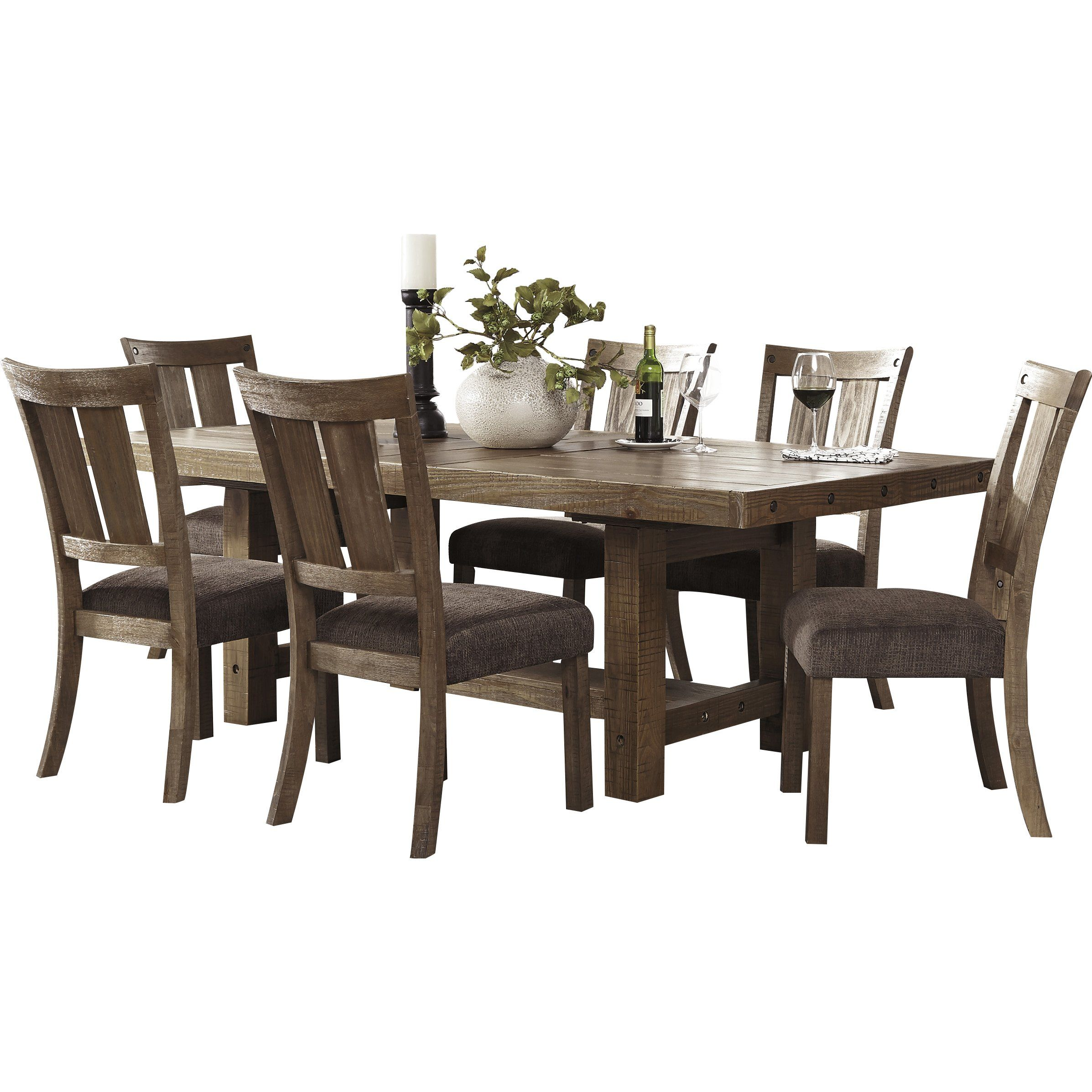 Loon Peak Reg Etolin Counter Height Extendable Dining Table Dining Table In Kitchen Dining Table Traditional Dining Tables