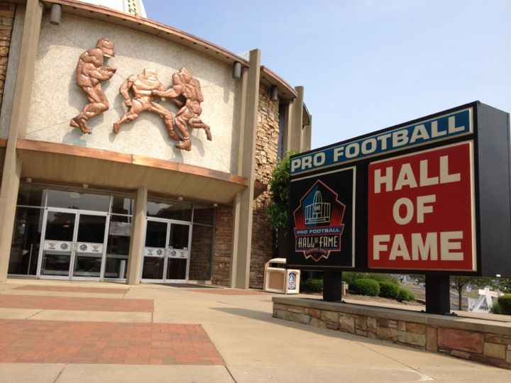 Football Hall Of Fame Football Hall Of Fame Football Canton Ohio