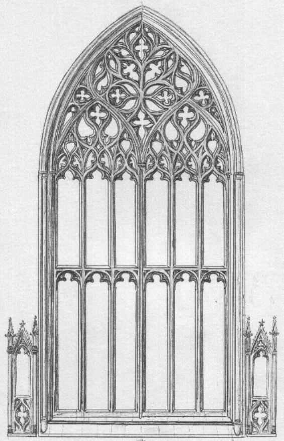 gothic window example gothic architecture pinterest. Black Bedroom Furniture Sets. Home Design Ideas