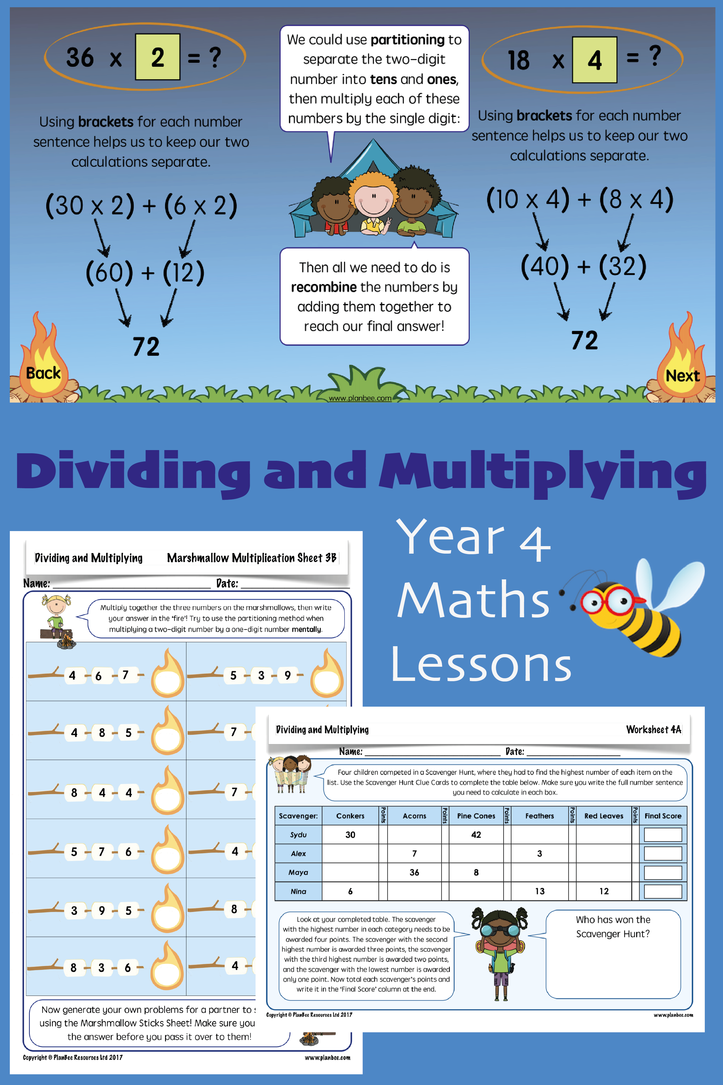 Dividing And Multiplying