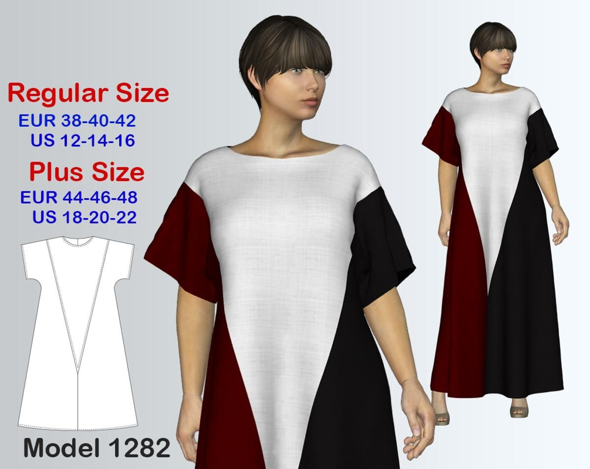 Maxi Dress Sewing Pattern Pdf
