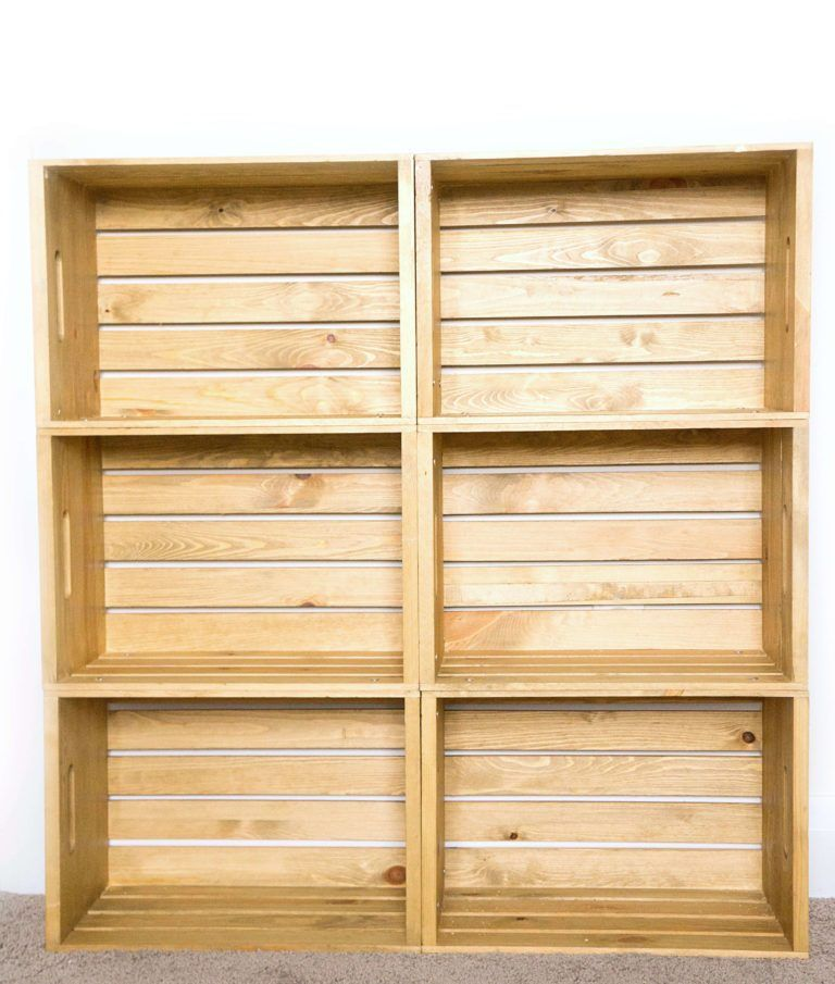 Diy Wooden Crate Shelf Wooden Crate Shelves Diy Wooden Crate Crate Shelves