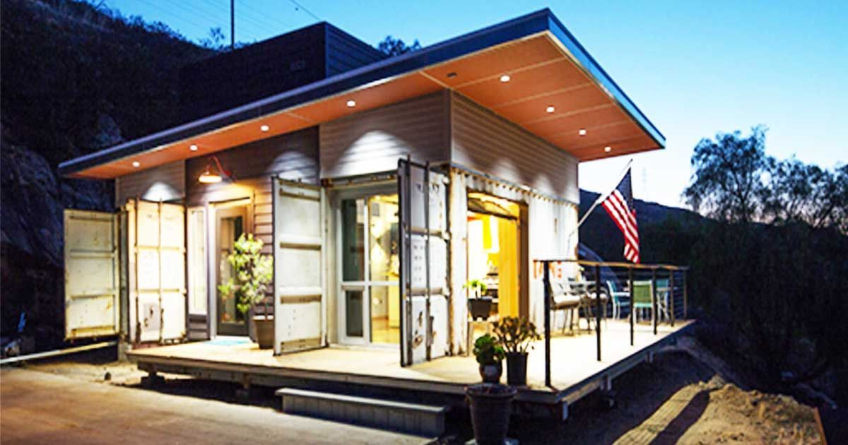 A Rustic Shipping Container Home Built On A Budget By Luke Hopping