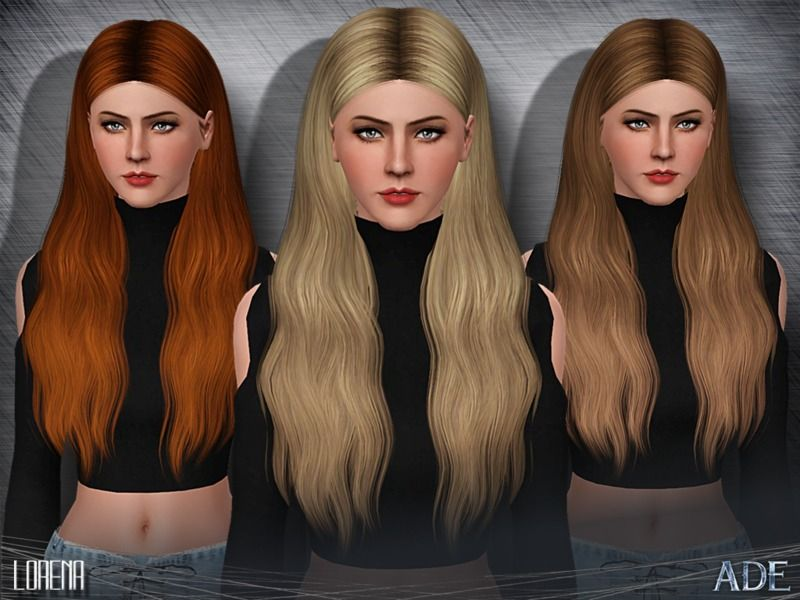 New Hair Mesh Found In Tsr Category Female Sims 3