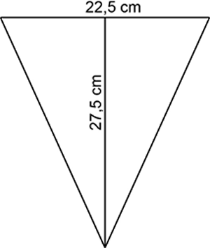 Square Angle Area Girlande Wimpel Vorlage